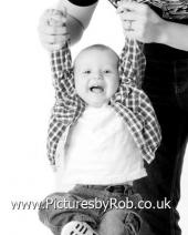 relaxed family photographs in York