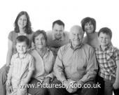 Three Generation Family Portrait Photographer York
