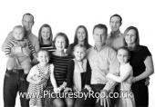 Large Family Portrait Photography in York