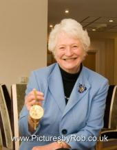 Gold Medal Winner Dame Mary Peters, PR event Photographer York
