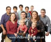 Multi Generation Large Family Portraits