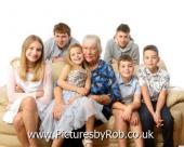 Grandchildren Family Portrait Studio