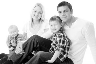 Family Portrait Photography Studio in York